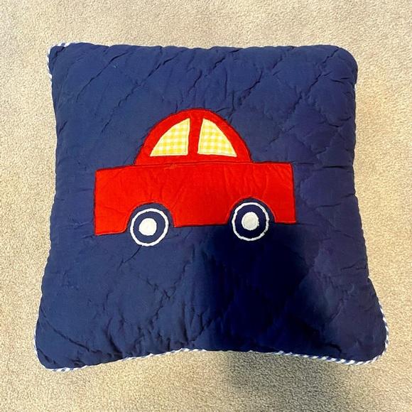 Children's Car Throw Pillow